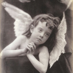 Angel of Nativity (Julia Margaret Cameron, 1872)