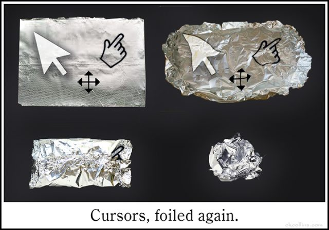 Cursors, Foiled Again by CHCollins