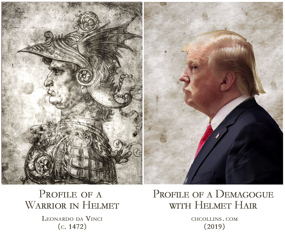 Trump - Profile of a Demagogue with Helmet Hair