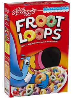 Fruit Loops Bird