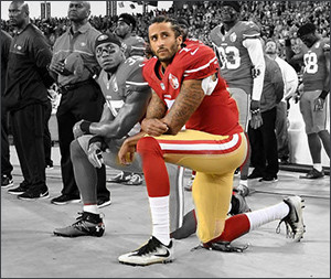 Colin Kaepernick -  Image via Getty/Thearon W. Henderson