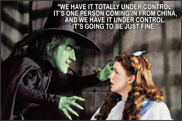 Flying Monkeys --totally under control.  Wicked Witch of The West